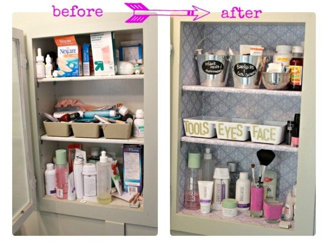 Awesome 10 DIY Organization Projects {The Weekly Round UP}   This Silly Girlu0027s Life  · Medicine Cabinet ...