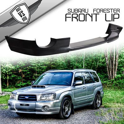 Fit For 03 05 Subaru Forester Sg5 Ds Style Urethane Front Bumper Lip Subaru Forester Subaru Forester Xt Subaru