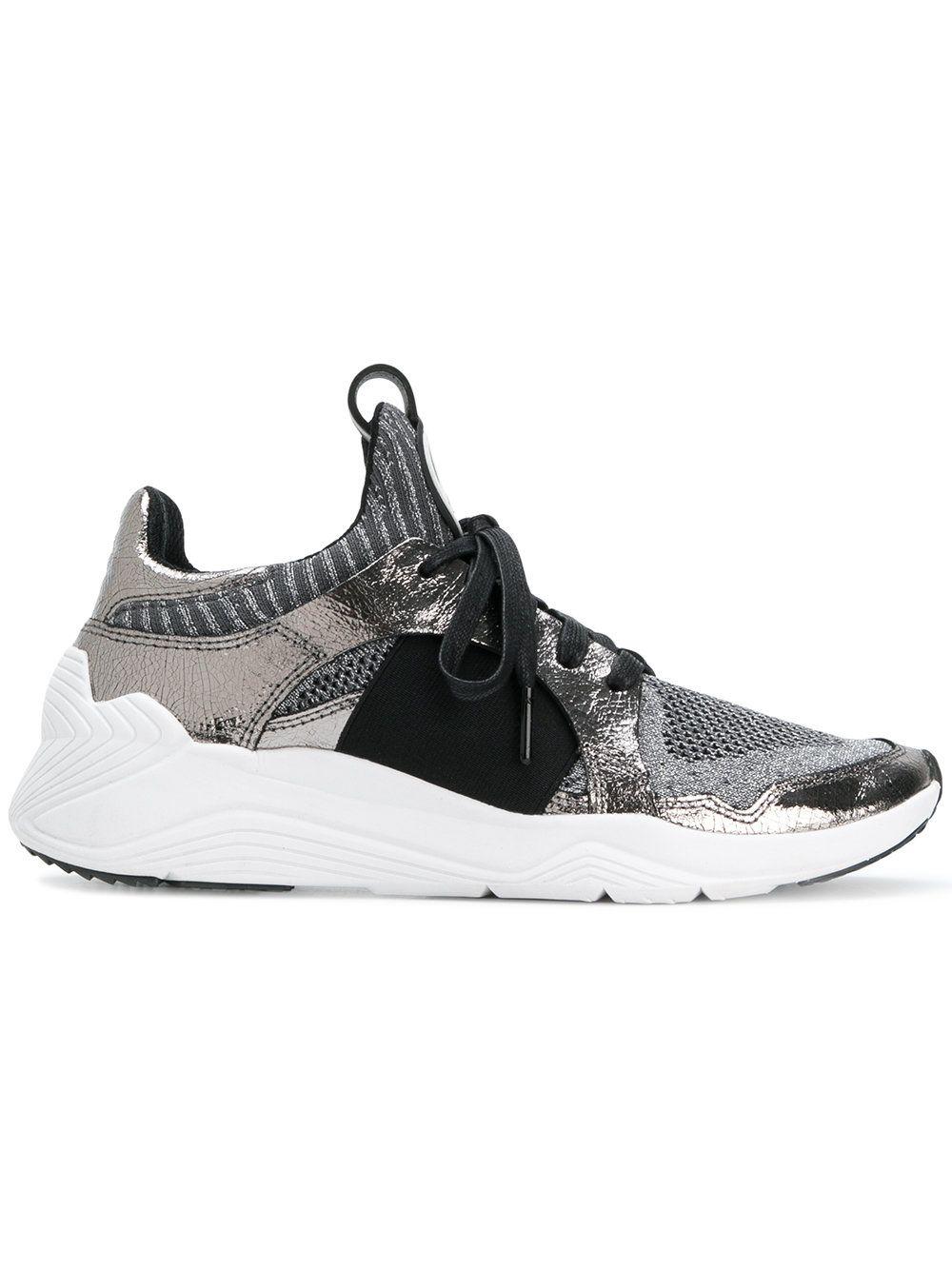 Alexander McQueen Black Kalsee Scuba Sneakers 8AAJZF4WtX