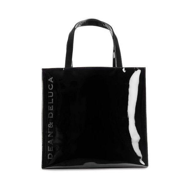 Dean Deluca Patent Tote Bag Found On Polyvore Featuring Women S Fashion Bags Handbags