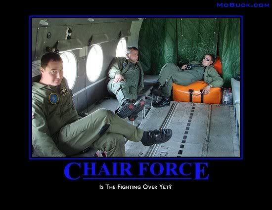 Chair Force Military Humor Military Funny