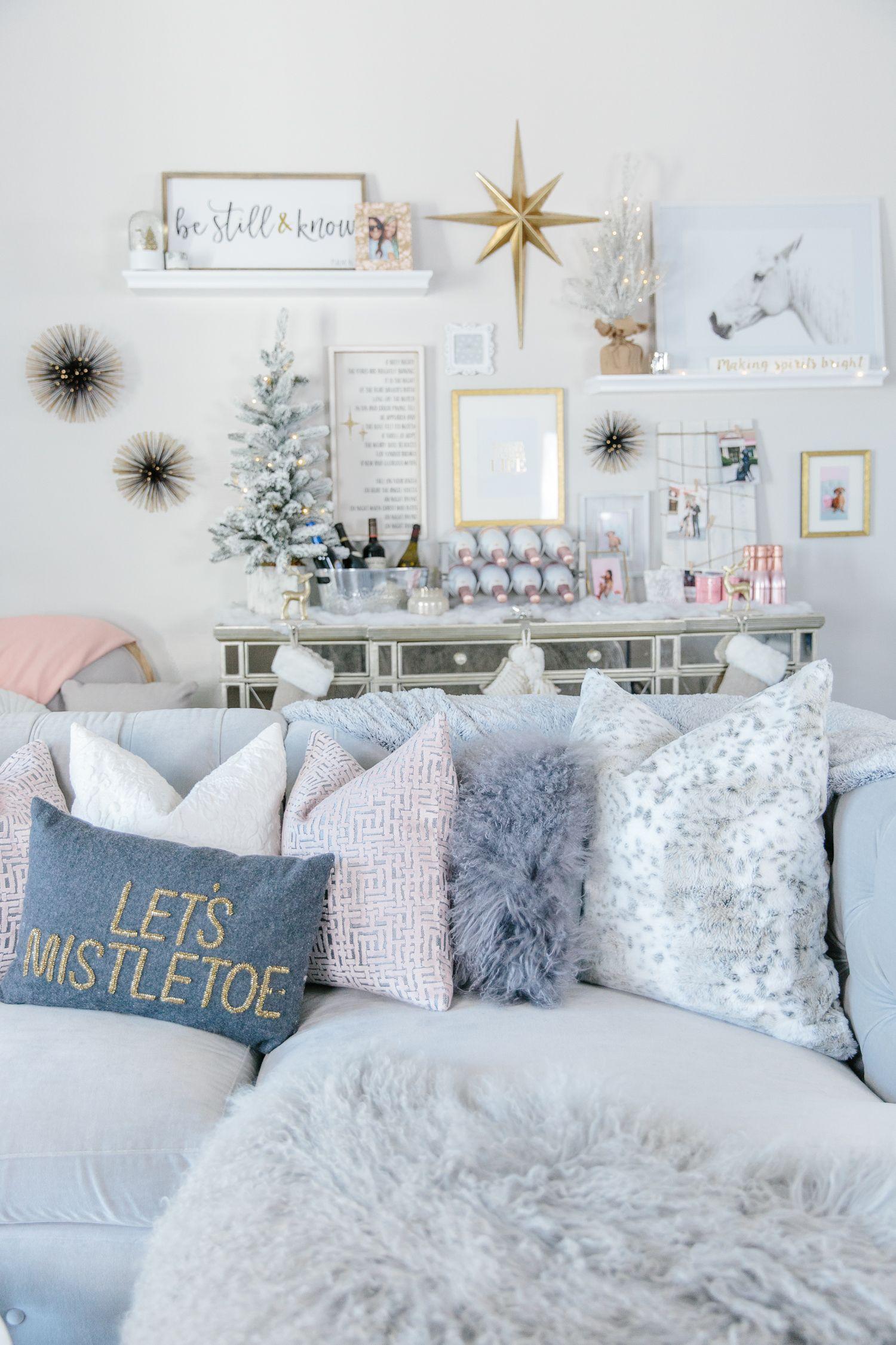 My Christmas Holiday Home Decor Reveal Christmas