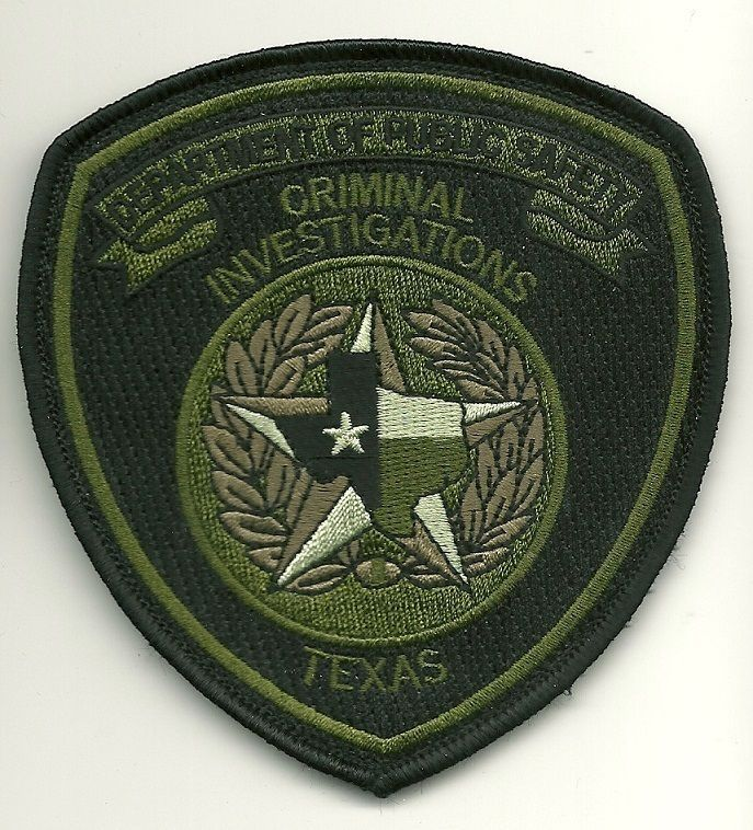 Texas State Police Subdued DPS Criminal Investigations