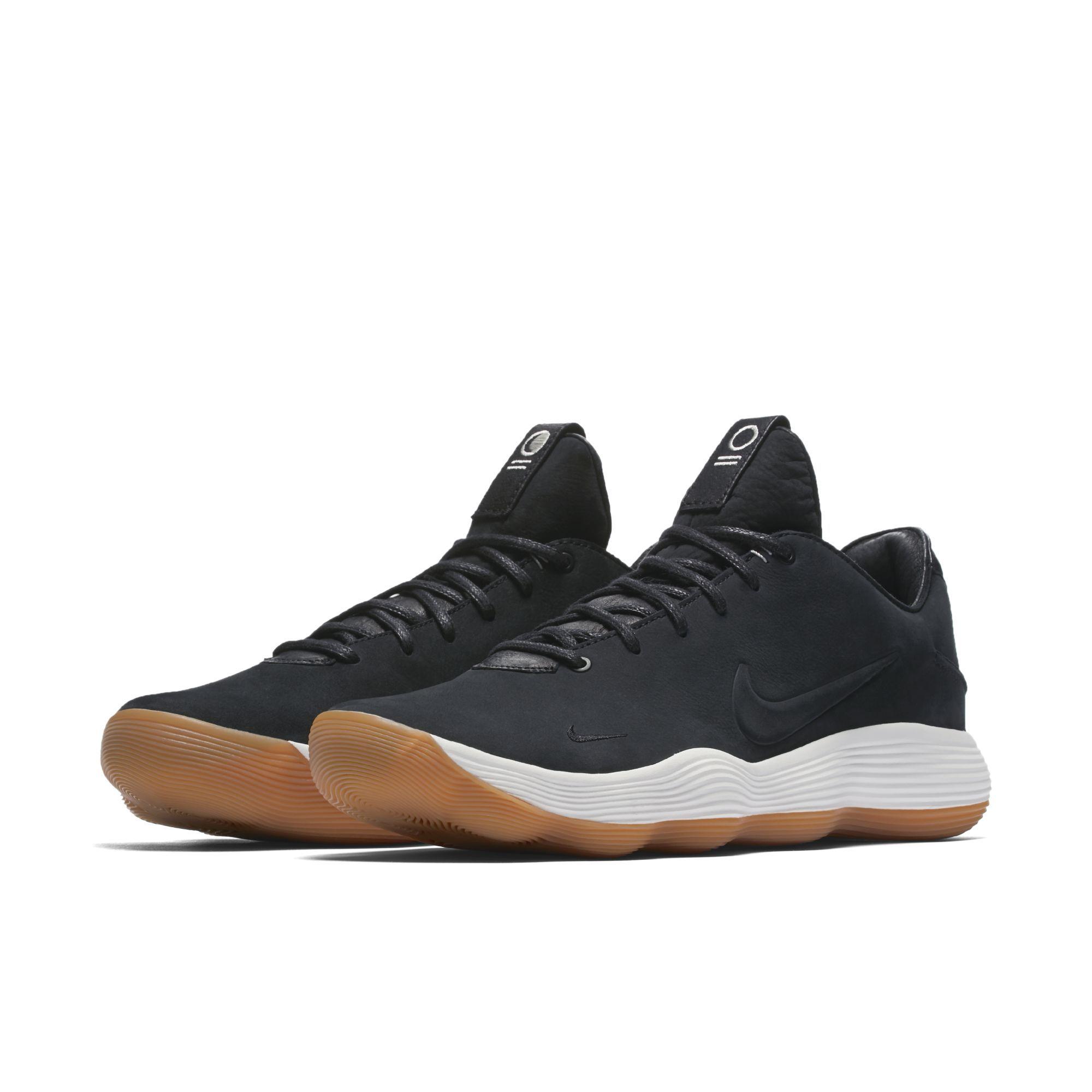 Nike React Hyperdunk 2017 low suede black
