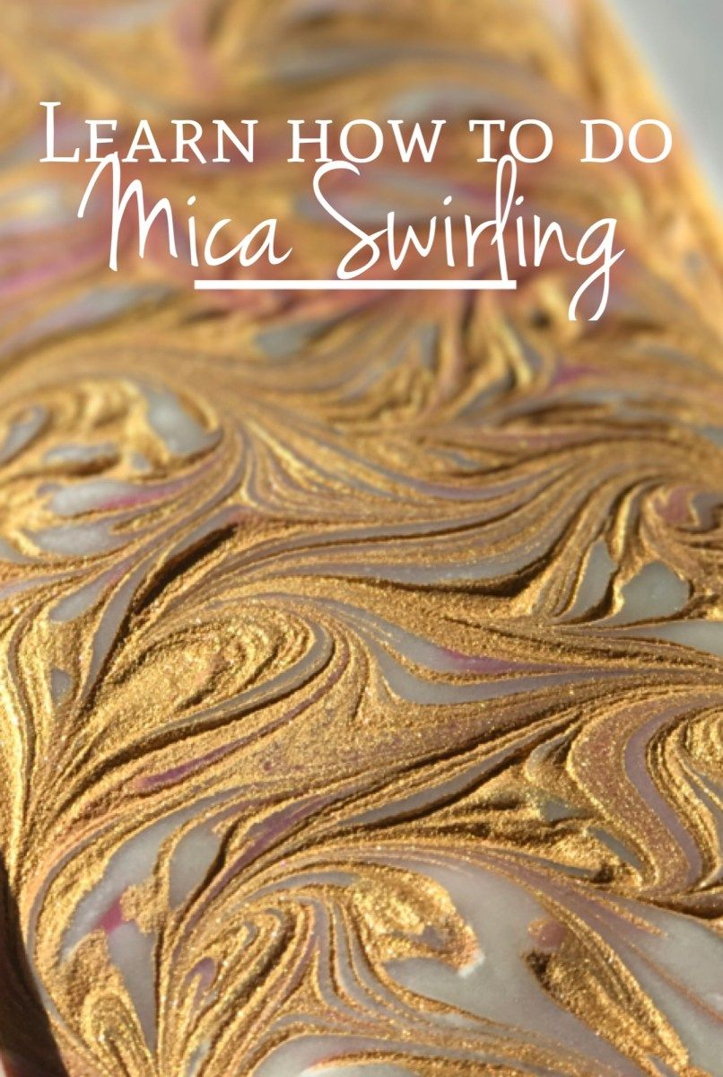 Mica swirling technique