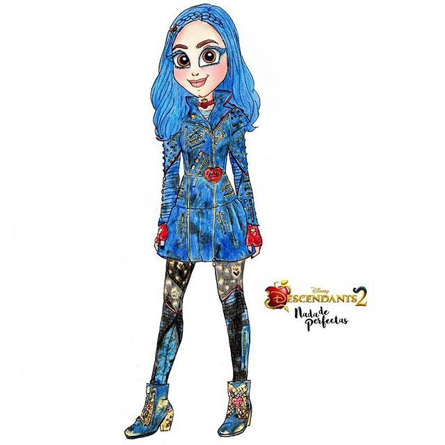 Yey Sofiacarson As Evie If I Loved This Character On