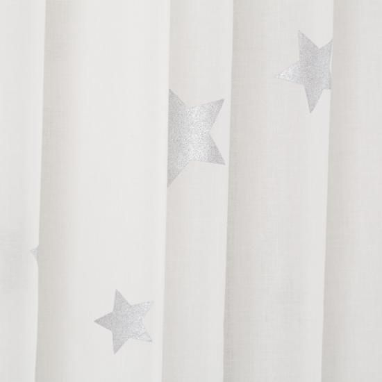 For Nook Window In Small Room Silver Star Curtain Panels | The Land Of Nod  42