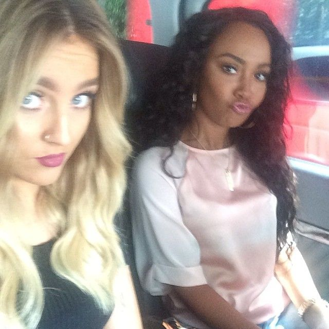 Perrie Edwards & Leigh Anne Pinnock