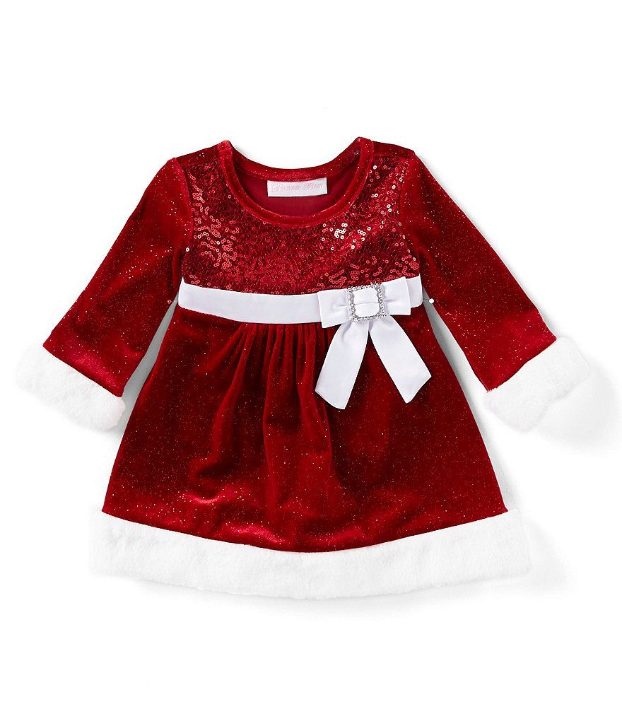 Bonnie Jean Christmas Outfits.Bonnie Jean Baby Girls Newborn 24 Months Christmas Long