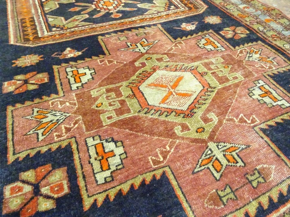 "C 1930 Superb Persian Serapi Heriz Hand Made Exquisite Rug 4' 3"" x 10' 11""   Antiques, Rugs & Carpets   eBay!"