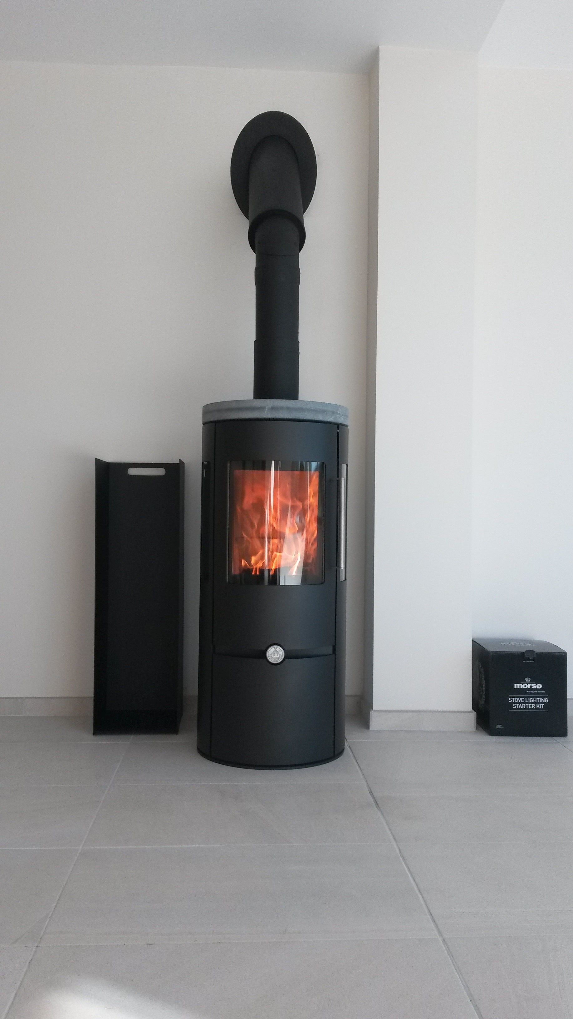 Dan Skan Ofen Dan Skan Logo Multi Fuel Stove Fireplace Living Room