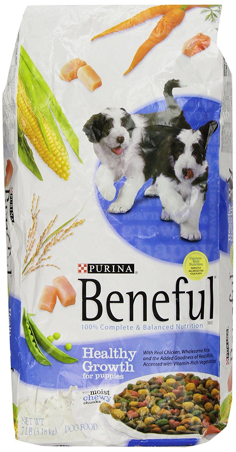 Beneful Dry Dog Food Healthy Growth For Puppies 7 Pound Bag