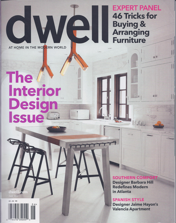 "(June 2012) DWELL MAGAZINE ""NICHE design inc./La Cantina Doors"" Client: NICHE design inc."