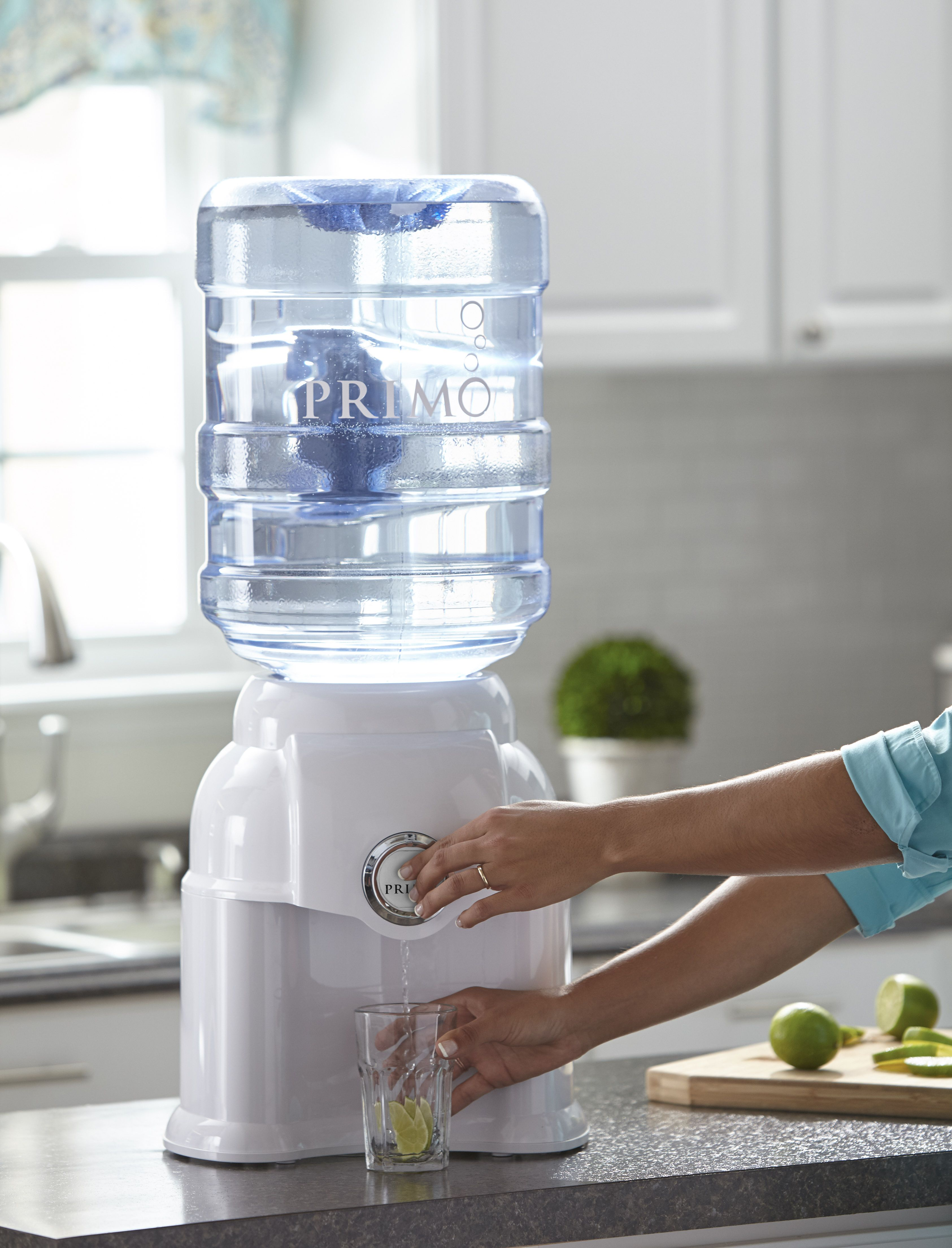 Primo Countertop Water Dispenser White Model 900196 Walmart Com In 2020 Countertop Water Dispenser Water Dispenser Dispenser