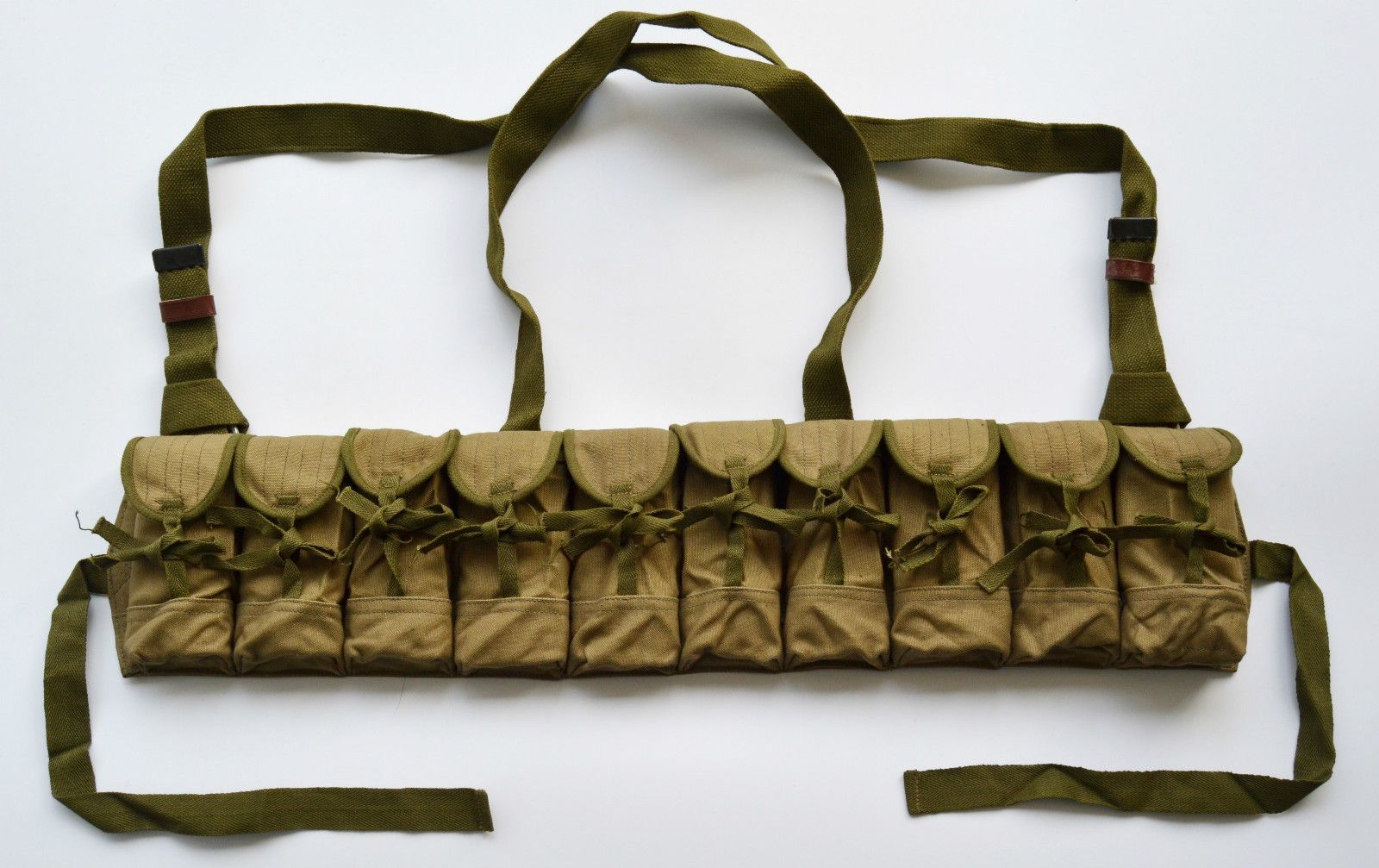 Knot Tie Early Version Vietnam War Chicom Sks Chest Rig