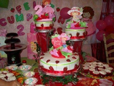 ideas para cumpleaños de niñas fresita