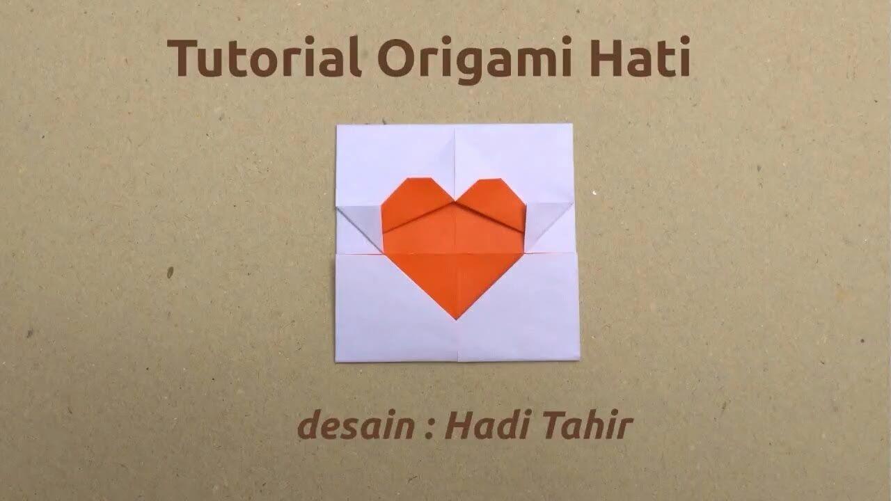 Cara membuat origami hati sederhana easy origami heart tutorial cara membuat origami hati sederhana easy origami heart tutorial ccuart Gallery