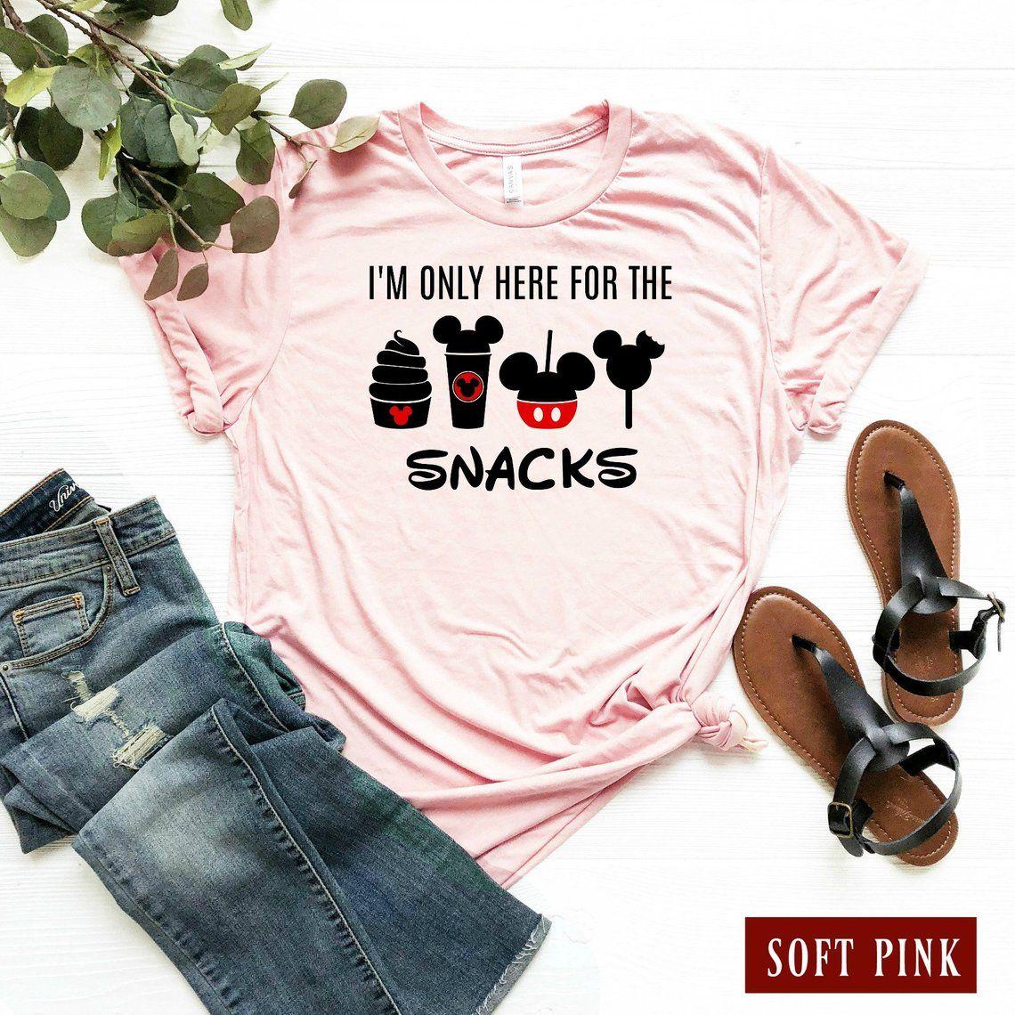 12f587dbd IM Only Here For The Snacks Disney TShirt / Snackgoals Disney | Etsy ...