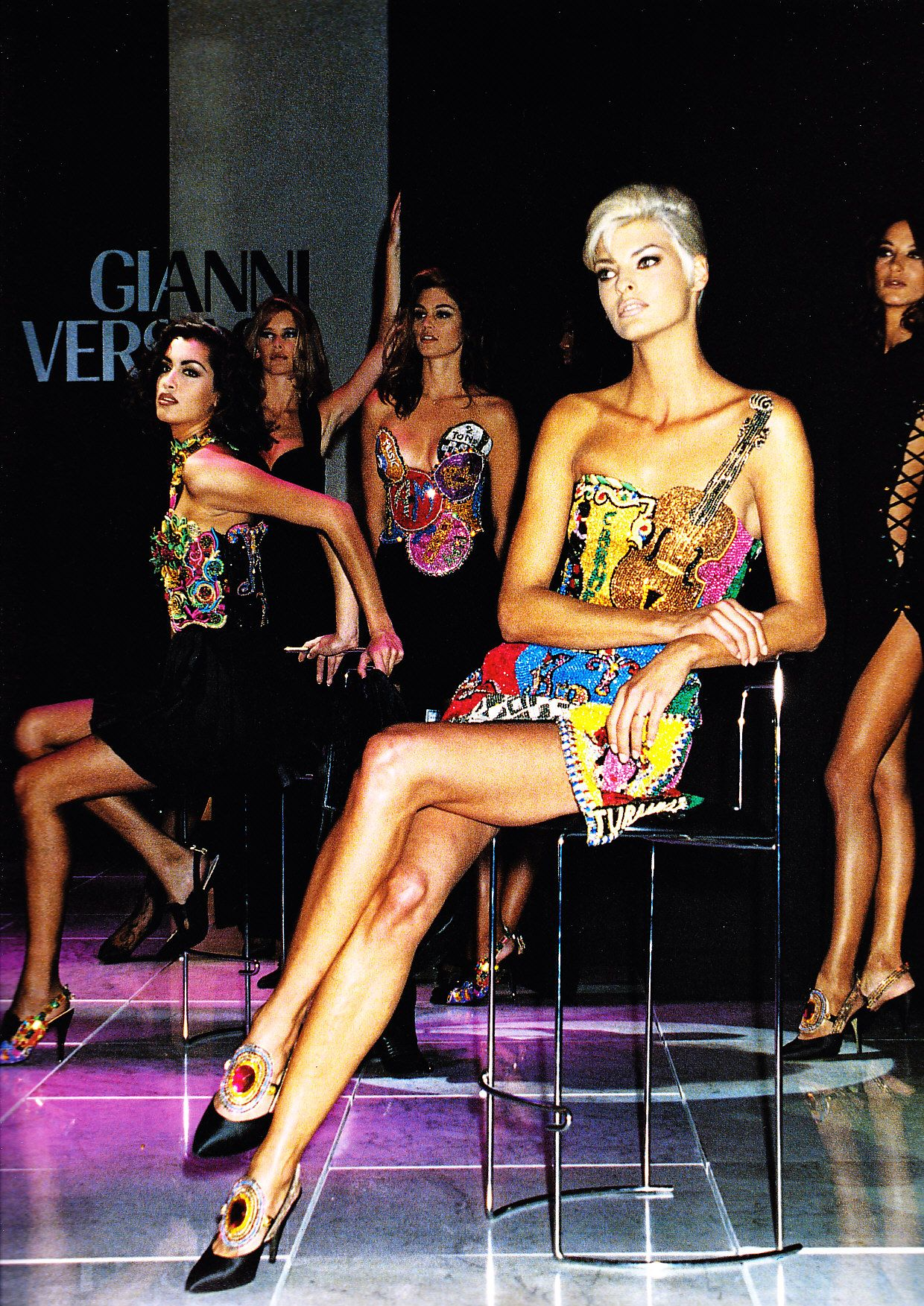 Watch Yasmeen Ghauri CAN 	2 	1996-1997 video