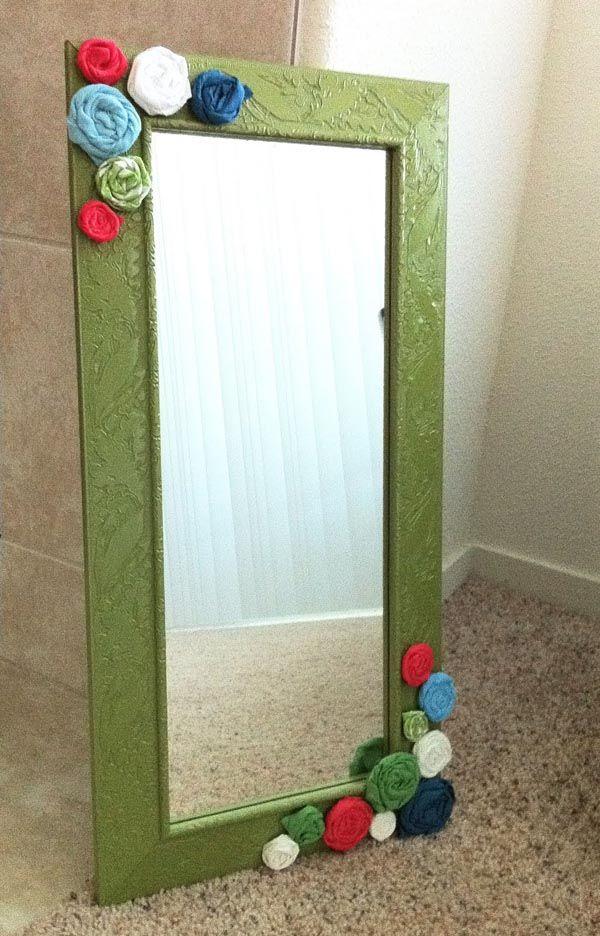 Diy Mirror Frames Ideas Pics 14 Mirror Frame Diy Diy Mirror