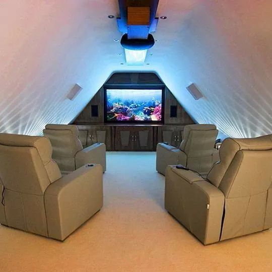 Attic Home Theater Home Cinema Room Home Cinema Seating Home Theater Installation