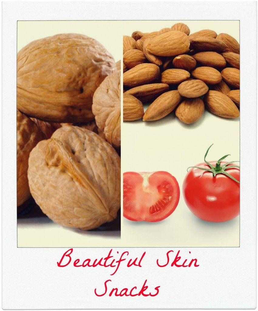 Snacking Your Way to Beautiful Skin #skincaretips