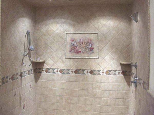 Le carrelage mural de salle de bain Murals - Stratifie Mural Salle De Bain