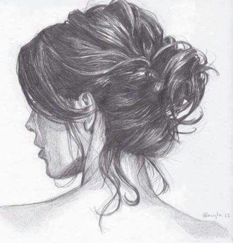 Pencil Drawing Of Hair How To Draw Hair Art Sketches
