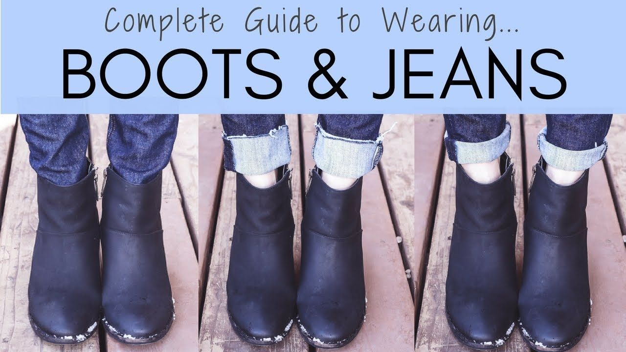 661720825db The Complete Guide to Wearing Boots with Jeans - YouTube