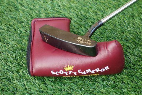 Scotty Cameron Gun Blue CGI Classic II putter with brand new