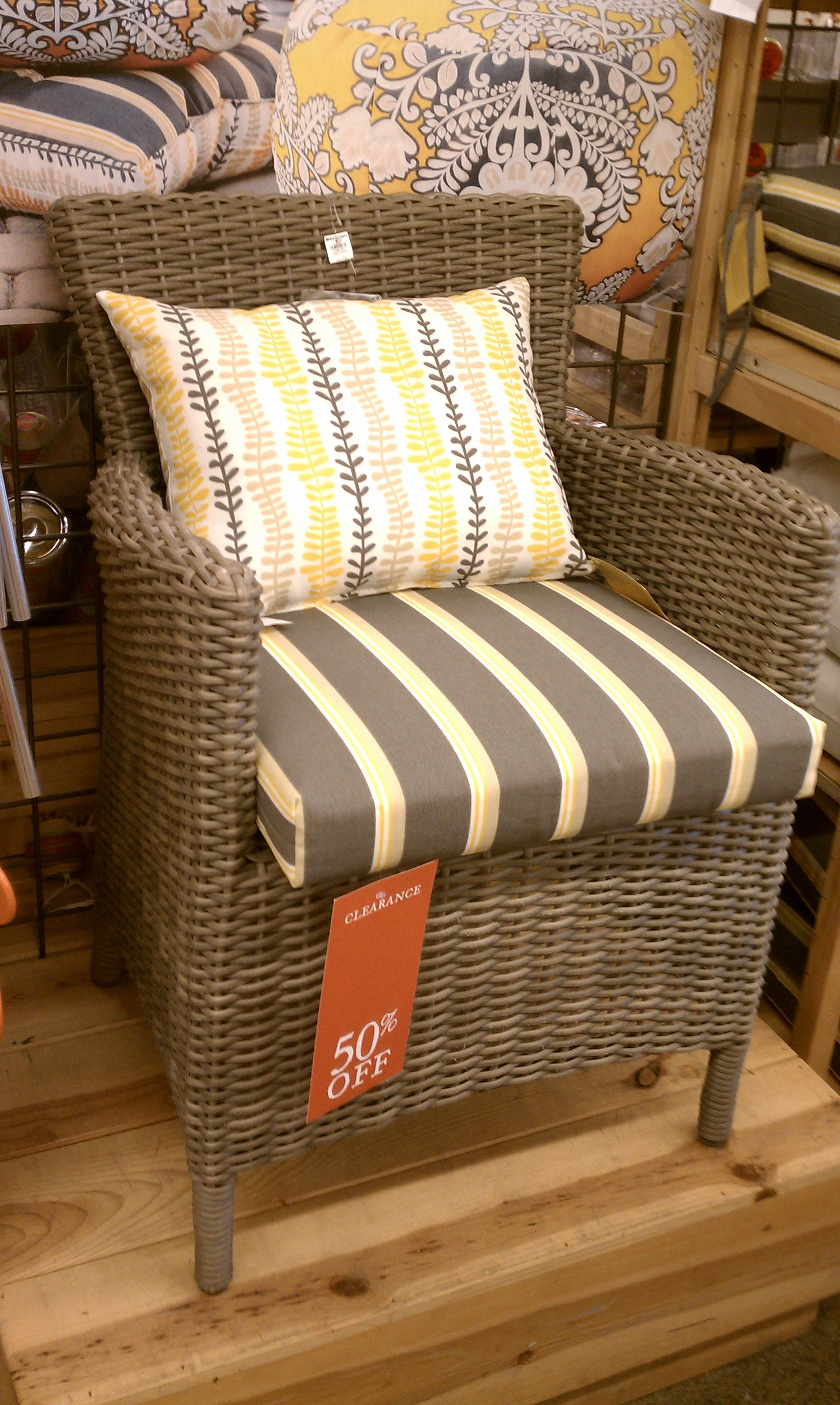 Charmant Cost Plus World Market Outdoor Furniture Yellow Grey White