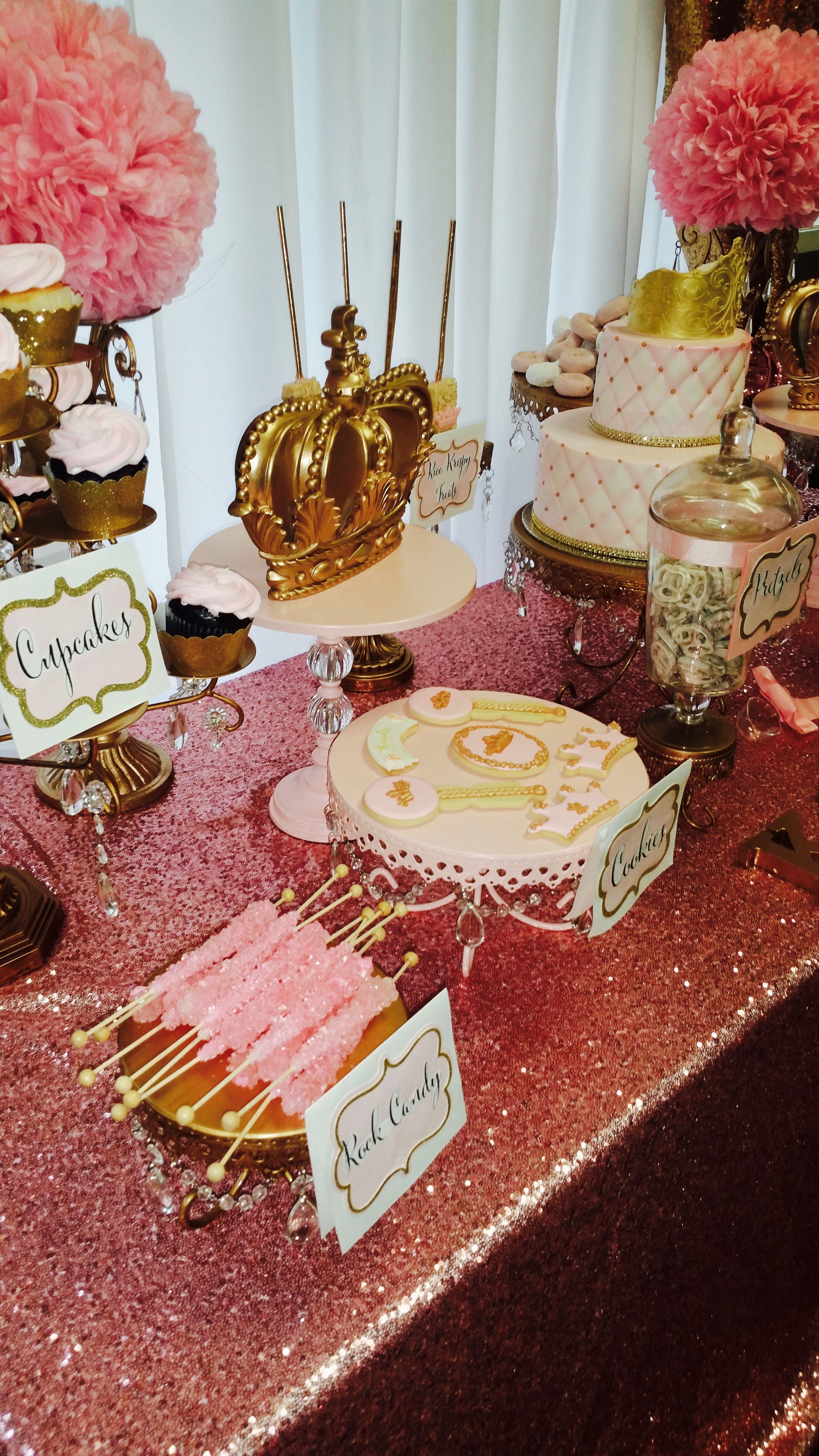 Pink Gold Dessert Table Ideas Opulent Treasures Cake Stands Cupcake Stands Dessert Stands Wedding Dessert Table Wedding Cake Display Opulent Treasures