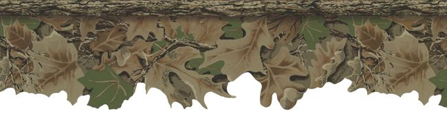 Realtree Advantage Camo Wallpaper Border for hunting room