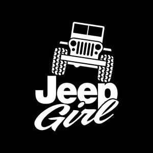 Girls That LOVE Jeep Decals For Wrangler CJ YJ TJ Vinyl Sticker - Car sticker decal for girls