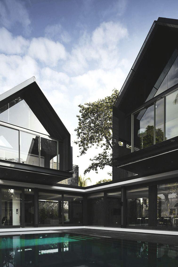Svarga Residence by RT+Q Architects Pte Ltd  Home ArchitectureFutureDream  ...