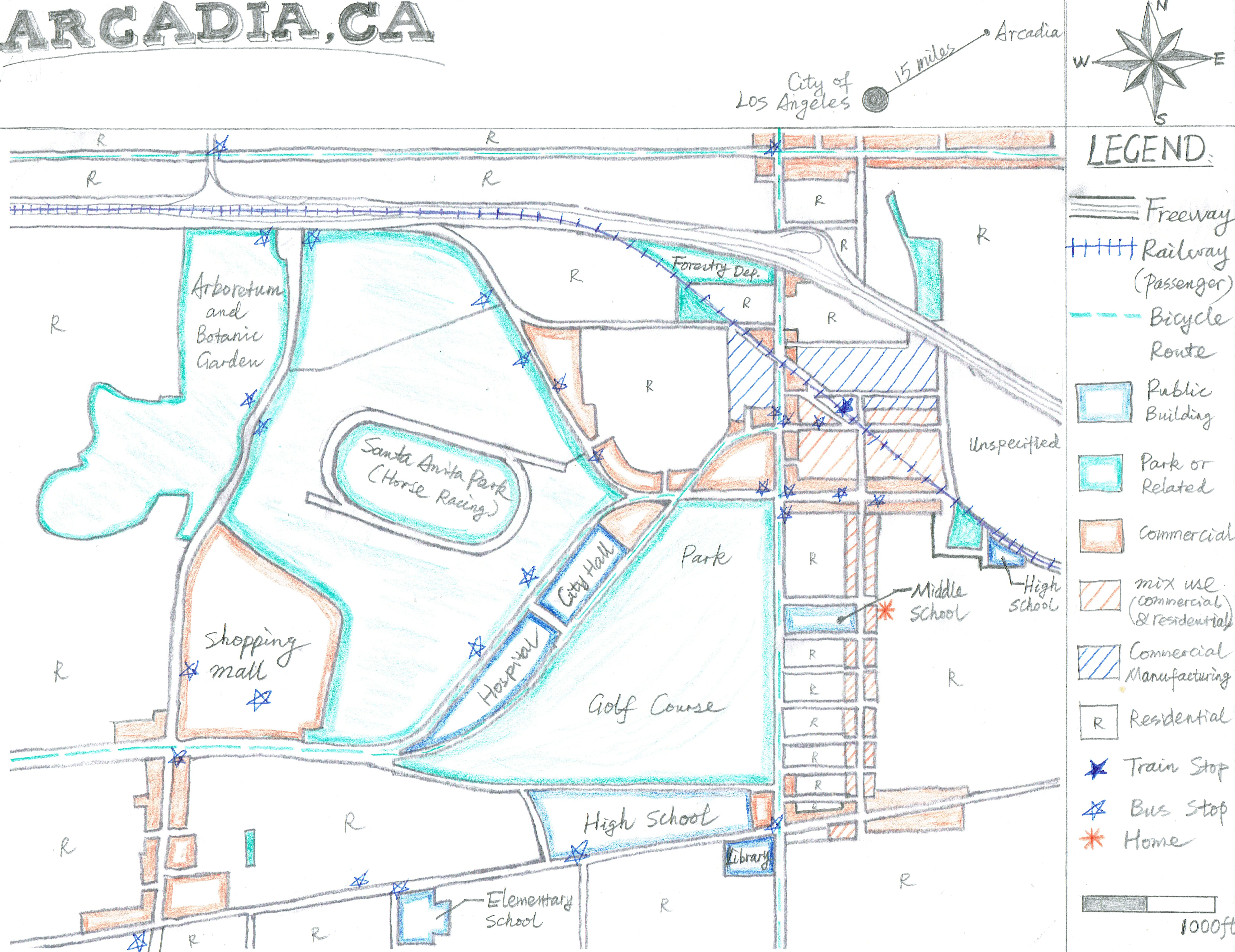 Week  Assignment My Name Is Ben Wu An Architect From Arcadia - Los angeles zoning map