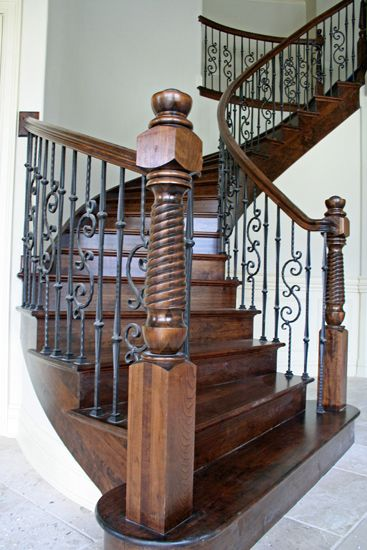 Newel Posts And Balusters For Stairways In 2019 Wooden