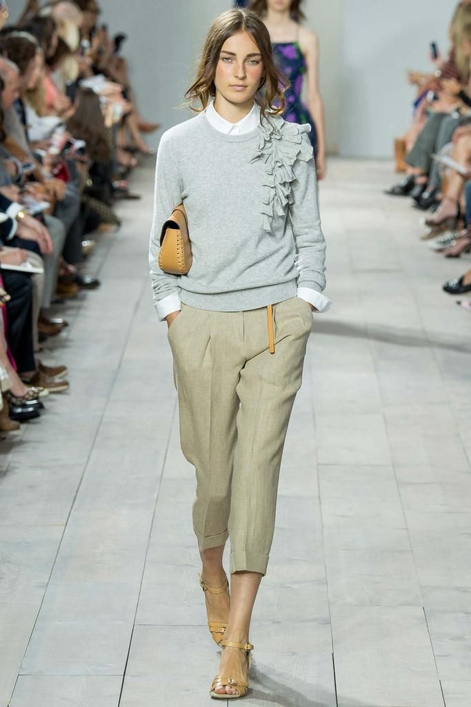8402bf53a49d Michael Kors Spring 2015 Ready-to-Wear - Collection - Gallery - Look 1 -  Style.com