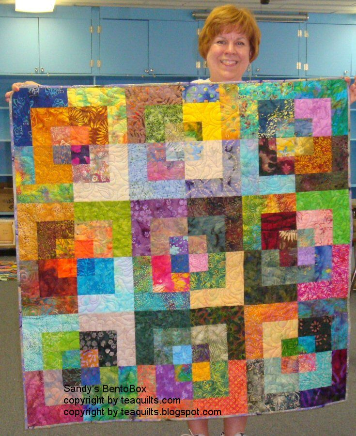 Free Bento Box Quilt Patterns Use A Jelly Roll With High