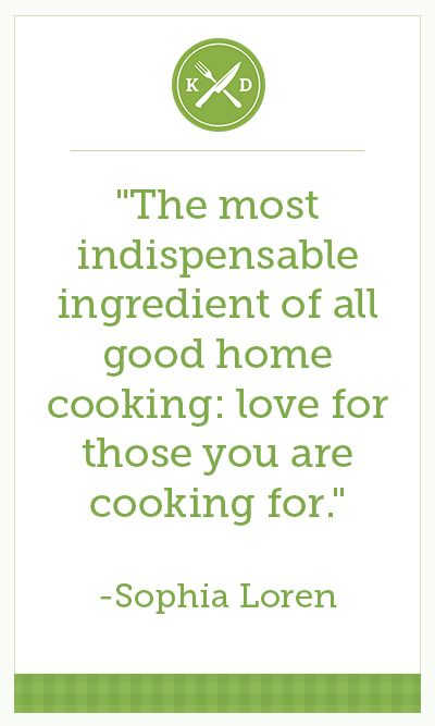 There's nothing quite like cooking for family and friends