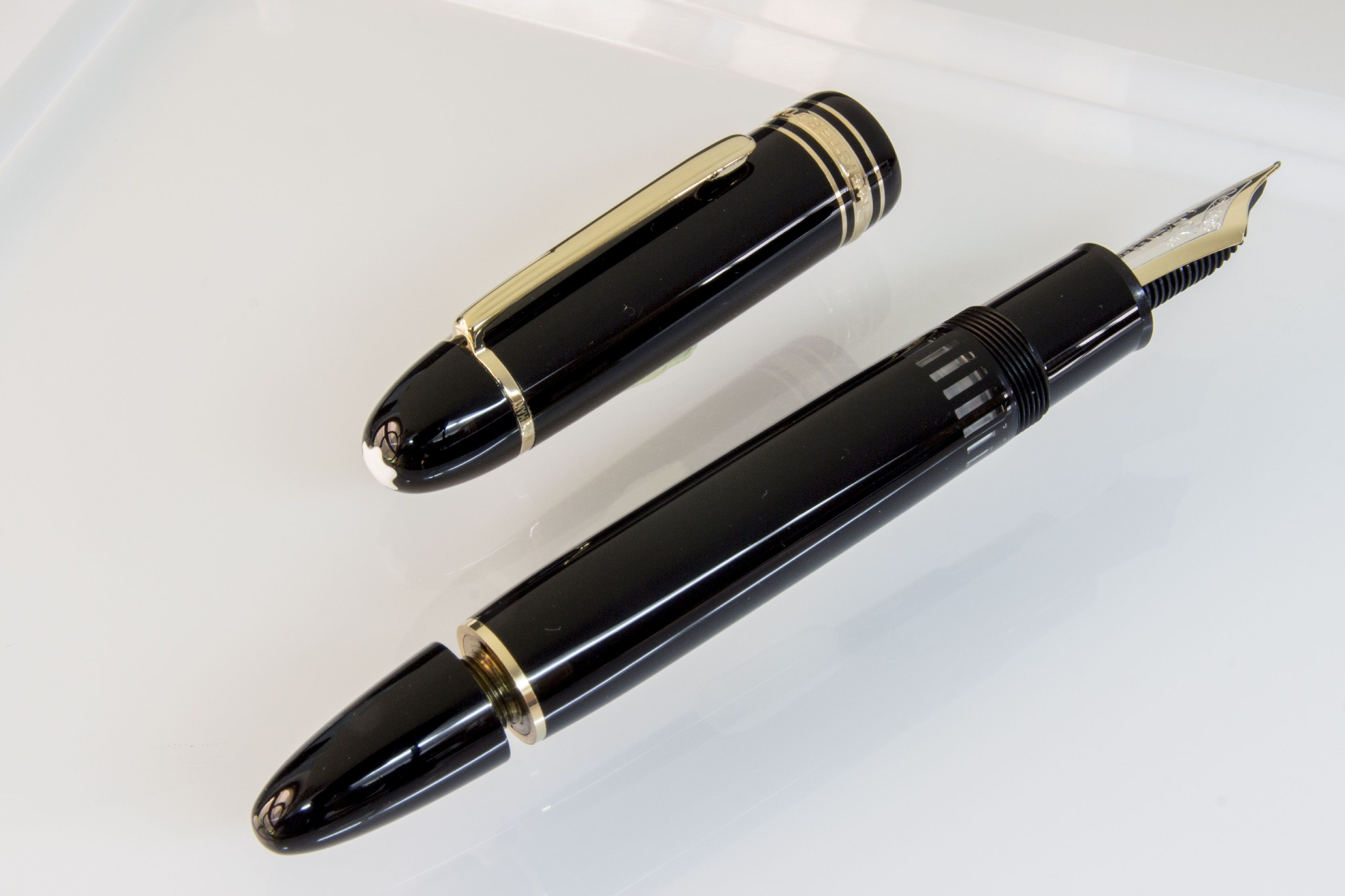 "MONTBLANC Meisterstuck 149 ""Le Cigar"" Fountain Pen (black"
