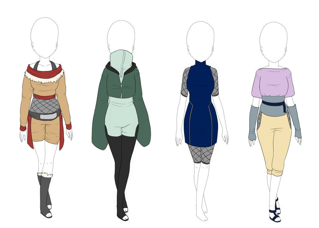 naruto oc outfits , Google Search