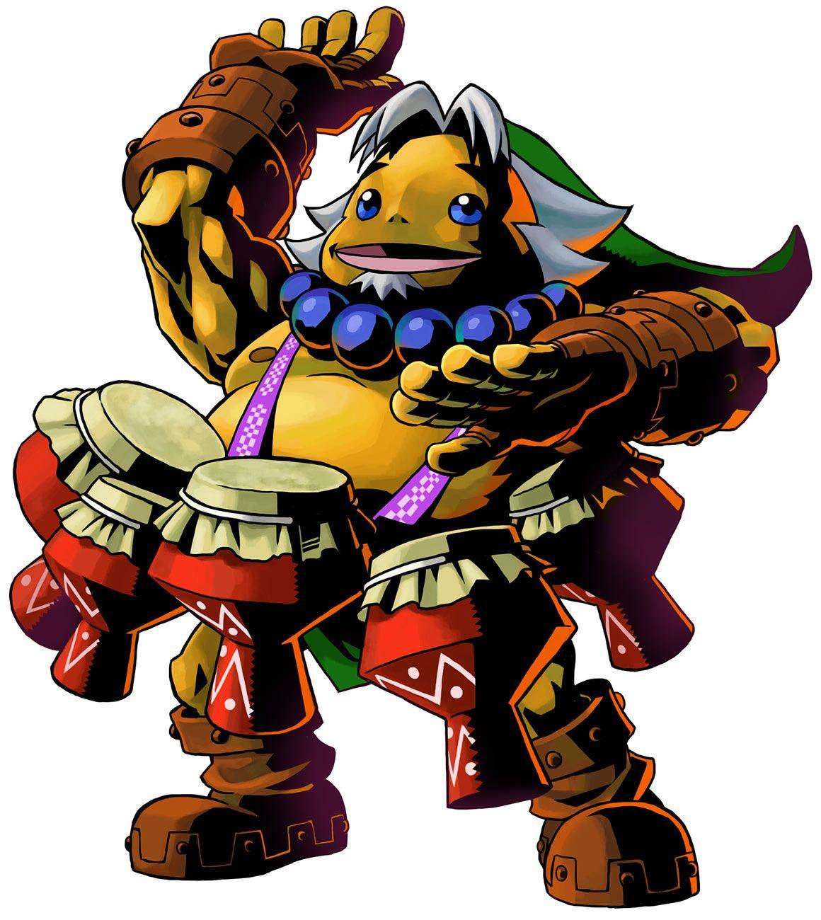 The Legend of Zelda: Majora\'s Mask 3D / Goron Link & Drums of Sleep ...