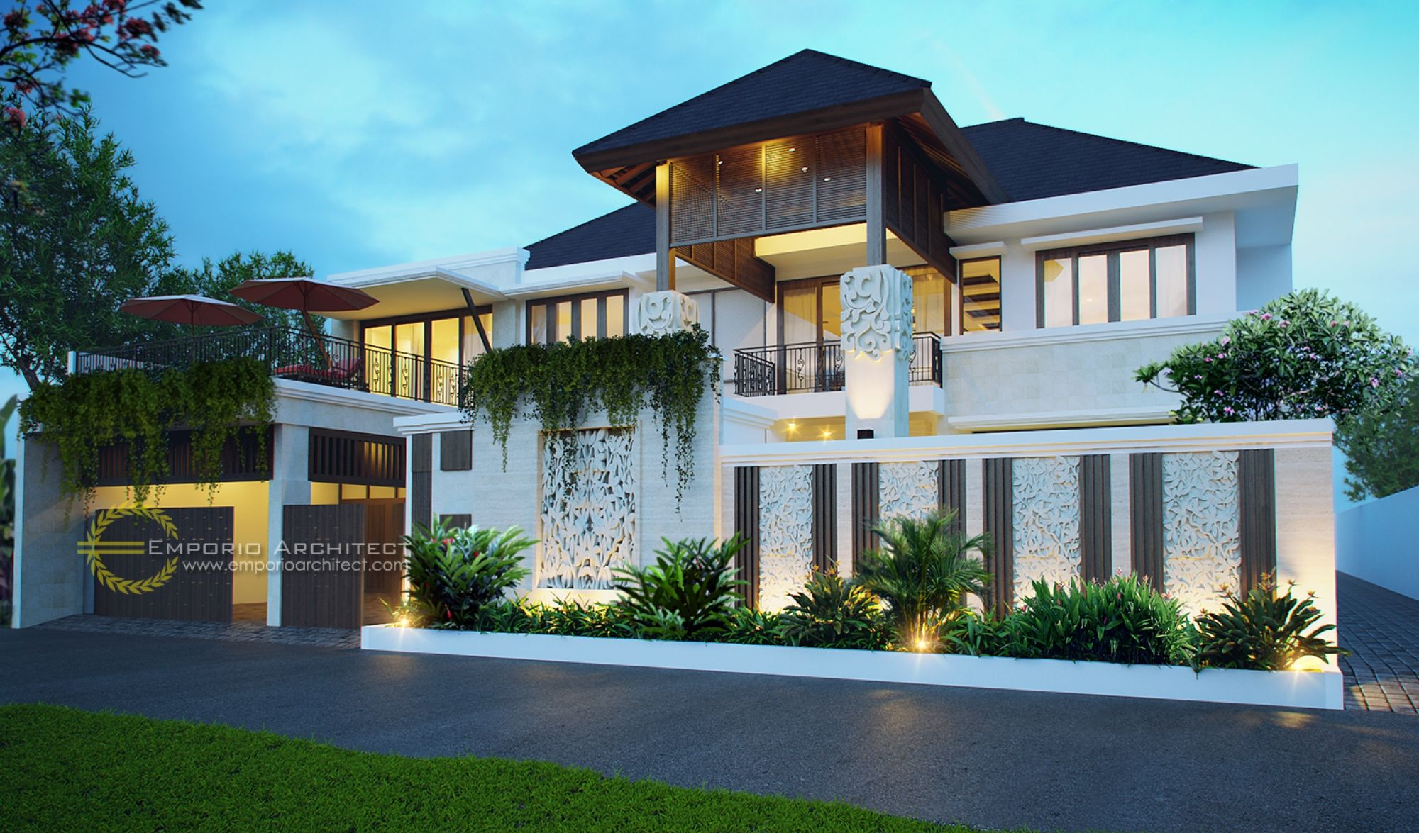 Desain Rumah Ibu Niki Umar Di Bintaro Jakarta Desainrumah