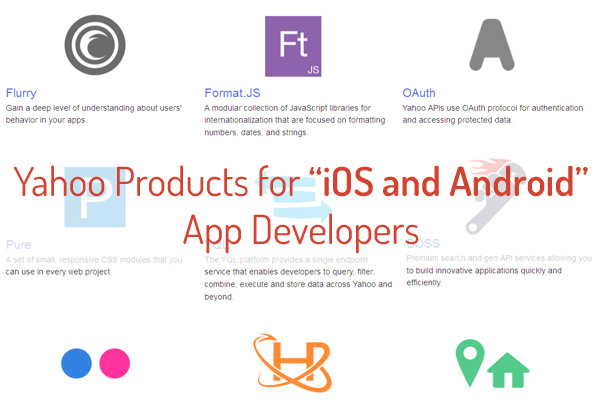 12 Must Have Yahoo Products for iOS & Android App