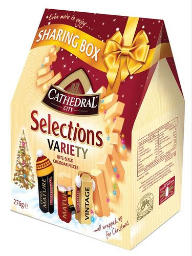 Cathedral City Selections Sharing Box of cheese for Christmas