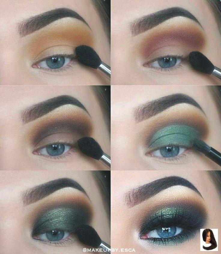 Photo of Drei wesentliche Make-up-Tipps: Lidschatten – Dress Models –  #drei #Grün Lidsc…