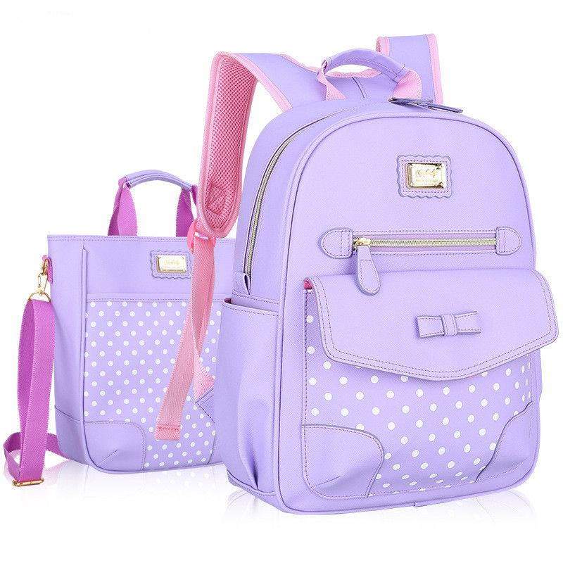7f9d36c07f New Fashion Children School Bags for Girls Backpack Kids BookBag Child  Printing Backpacks Girl Bow Suit satchel rucksack mochila