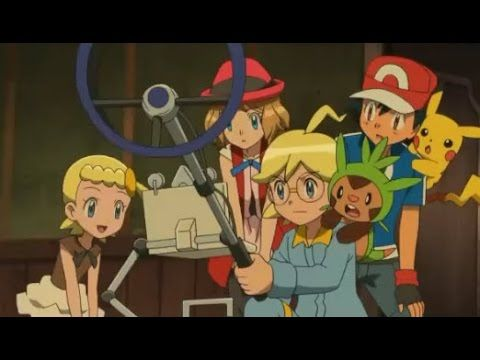 [FULL] Pokemon X and Y Episode 72    Hospitality of the Scary House