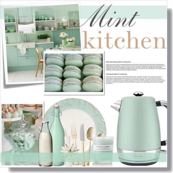 Mint Green Kitchen Paint: Mint Green Kitchen Decor. By Farmgirl2015 On Polyvore